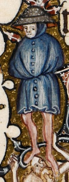 Detail Egerton MS 3277 Date 2nd half of 14th century  Title Psalter and Hours (the 'Bohun Psalter') f.128r