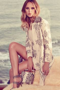 Dylan Penn in Ermanno Scervino's spring 2015 ad campaign.