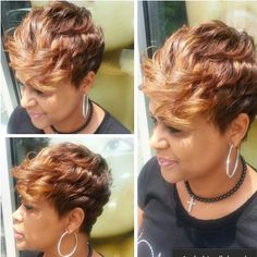 STYLIST FEATURE| Gorgeous cut✂️ and color done by #NYCStylist @ParizVedell on @rochelle804 So classy #VoiceOfHair ========================= Go to VoiceOfHair.com ========================= Find hairstyles and hair tips! =========================
