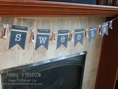 Simply Created Chalkboard Banner - great for any and every occasion.