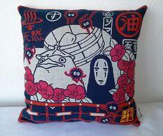 Spirited Away No face Chihiro PillowOFFICIAL GHIBLI by Morondanga