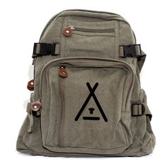 Camping Backpack, Canvas Backpack, Camping Gift, Rucksack, Travel Backpack, Hiking Backpack, Hipster, Tee Pee, Woodland, Gift for Men by mediumcontrol on Etsy https://www.etsy.com/listing/254861722/camping-backpack-canvas-backpack-camping