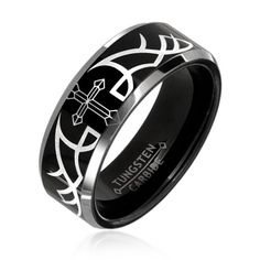 Black Engagement Rings | Download black gothic wedding rings