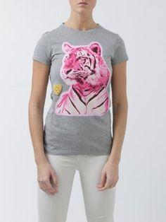 Stella McCartney-tiger t-shirt-t-shirt tigre-Stella McCartney 2014 shop online