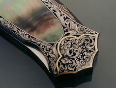 Sam Alfano, engraver - Custom Knife Engraving