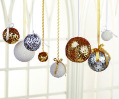New Years Ball Drop Display ~ easy ~ FREE CROCHET pattern