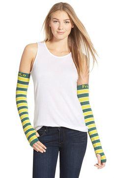 FiveLo 'Green Bay' Stripe Arm Sleeves
