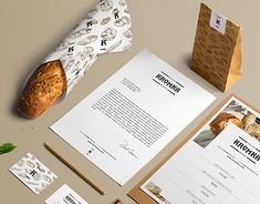 """Check out this @Behance project: """"Kromka Polish Bakery"""" https://www.behance.net/gallery/16901101/Kromka-Polish-Bakery"""