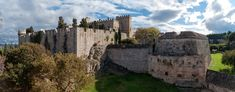 Panorama of the Knights Сastle, Rhodes, Greece by Aleksey Kotikov
