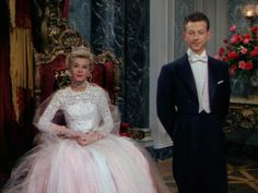 """Donald O'Connor and Vera-Ellen in """"Call Me Madam"""" Vera Ellen, Classic Hollywood, Old Hollywood, Wedding Movies, Wedding Things, Donald O'connor, Nice Dresses, Flower Girl Dresses, Gene Kelly"""
