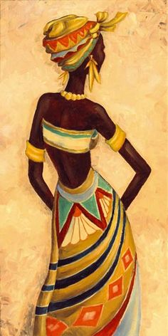 African Femme I – Original auf Leinwand 80 x 40 cmPainting on canvas . Pintura em tela … … Canvas painting … More Art that speaks to me MásThis Pin was discovered by Rob Black Art Painting, Black Artwork, Fabric Painting, Woman Painting, African American Art, African Women, Afrique Art, African Art Paintings, African Drawings