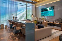 Sala de TV com bar - Laguna
