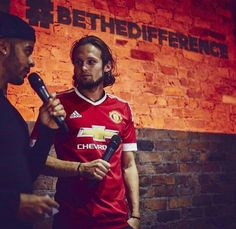 Daley Blind in the new kit. #MUFC