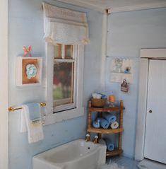 Mini Badezimmer Zubehör Süß Set 1/12 Scale Puppe Haus Spielzeug Mädchen Geschenk Bad