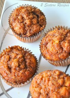 sweet potato recipes Cinnamon Sweet Potato Muffins - 2 Sisters Recipes by Anna and Liz Sweet Potato Cinnamon, Sweet Potato Muffins, Mashed Sweet Potatoes, Sweet Potato Cupcakes, Sweet Potato Dessert, Mash Sweet Potato Recipes, Sweet Potato Mash, Loaded Sweet Potato, Baking Recipes