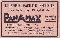 PANAMAX, prononcezbien l' X! Echo du Centre 1946 - Bfm Limoges