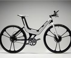 Ford E-Bike Concept. I'd buy it, but I'm not sure it would be good for commuting to the airport.