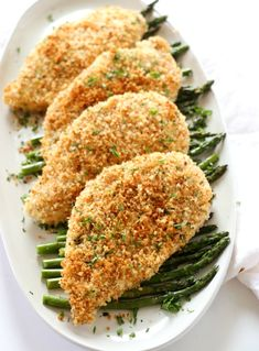 Baked Panko Chicken is the easiest weeknight meal. I make this frequently in my house, especially when I want something fast during the week. Panko Breaded Chicken, Chicken Cutlets, Chicken With Panko, Oven Chicken, Chicken Meals, Easy Home Cooked Meals, No Cook Meals, Meat Meals, Easy Dinners