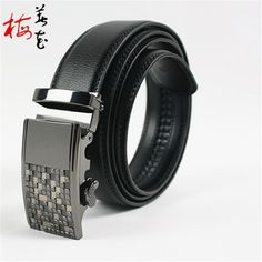 Aliexpress.com : Buy New Design Brand Men'S Automatic Buckle Genuine Leather Buckle Belt Casual Business Male Two Sided Cowskin Belts from Reliable belt bus suppliers on YanYang International Company Ltd. Leather Buckle, Leather Belts, Leather Design, Waist Belts, Business Casual, Belt Buckles, Branding Design, Mens Fashion, Stuff To Buy