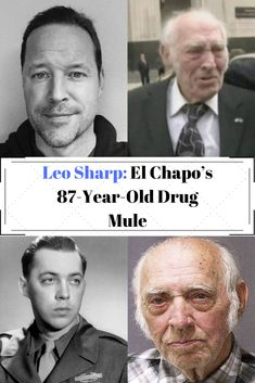 """Discover the true story of Clint Eastwood's """"The Mule"""" with this look at Leo Sharp, an drug trafficker for the Sinaloa Cartel. Celebrities Exposed, Famous Celebrities, Clint Eastwood, Picture Story, Best Motivational Quotes, Kids And Parenting, Year Old, Leo, Confessions"""