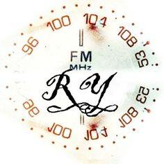 Radio Yesterdays: A Rock Band! Logo design by Lauren Davidson