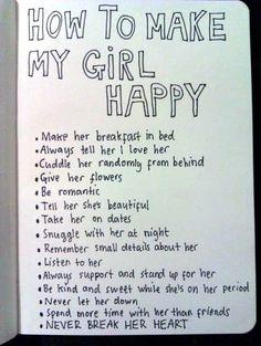 The perfect boyfriend