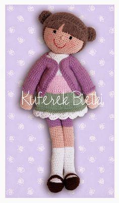 Kuferek Bietki: Jette - lalka na szydełku/ Jette, Gehäkelte Puppe/ Jette, Crochet Doll