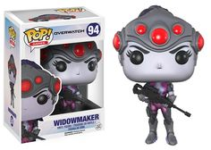 Funko Pop Games: Overwatch - Widowmaker Vinyl Figure (Pre-Order)