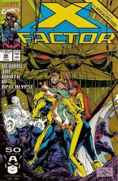 whilce portacio X-Factor, for some reason this is probably my favorite issue from this run, and the first 2 issue had cyberninjas so this one has to be really good.
