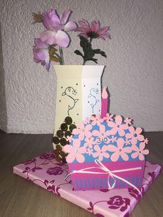 Geldgeschenk Vase aus Papier Luxurypimp Money Gift