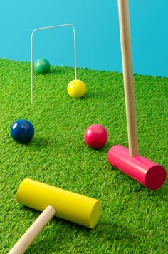 Great for getting the kids outdoors!  Croquet Set by Ridley's