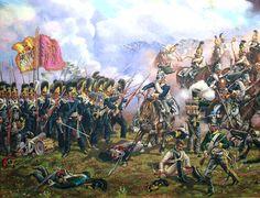 """""""Wurtemberg troops in the battle of Borodino"""", Alexander Leonov"""
