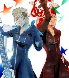 Axel and Demyx, Kingdom Hearts II