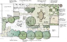 Copic adam vassau landscape design renderings drawn for Landscape design courses christchurch
