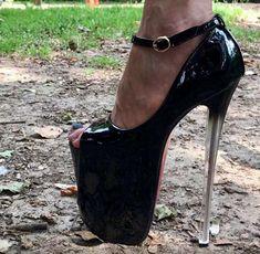 3a71f1b60d22 Black Cage Designer High Heel Platform Shoes in 2019