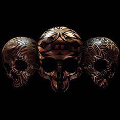 Skulls – Les jolis crânes décorés de Billelis