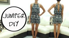 Jazz Ro DIY: Romper DIY. || Learn how to make a romper || FREE PATTERN