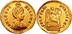 Roman Women on Coins - Aelia Eudoxia