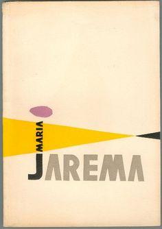 02 Maria Jarema, 1955 exhibition catalog by 50 Watts, via Flickr
