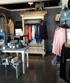 Customer pics time!!! YAAA!!!! This one is from Laura who is using the armoire in her booth at Marketplace Boutiques in Plano. LOVE IT!!!