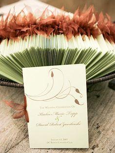 Real Wedding: A Colorful Desert Wedding Diy Wedding Programs, Wedding Pins, Wedding Cards, Wedding Events, Our Wedding, Wedding Invitations, Gypsy Wedding, Fall Wedding, Cute Wedding Ideas