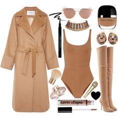 Rihanna - Consideration by carolrnunes on Polyvore featuring polyvore, fashion, style, MaxMara, Eres, Balmain, Christian Dior, Bliss Diamond, NYX and Givenchy