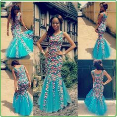 Ankara Gowns - Here is Beautiful Stylish Long Ankara Gowns For Ladies for any event . more latest long Ankara gowns styles awaiting you here. African Print Dresses, African Wear, African Attire, African Fashion Dresses, African Women, African Dress, Nigerian Fashion, Ghanaian Fashion, African Prints