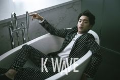 "Seo Kang Joon Shows His Dark and Mysterious Side with ""K WAVE"" 