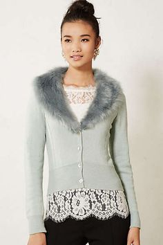 Adorable cardigan from anthropologie. I want.