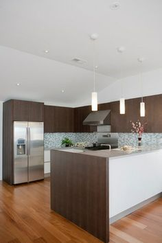 Before&After: 60's Outdated Kitchen to Functional Contemporary - Houzz 101d