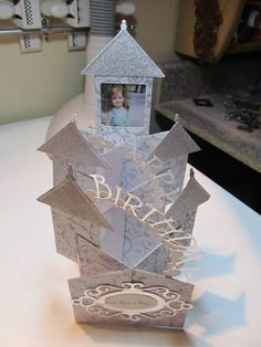 TLC362 Cascading Castle by figaro - Cards and Paper Crafts at Splitcoaststampers