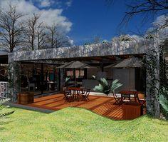 terraza Patio, Outdoor Decor, Home Decor, Houses, Terrace, Decoration Home, Room Decor, Home Interior Design, Home Decoration