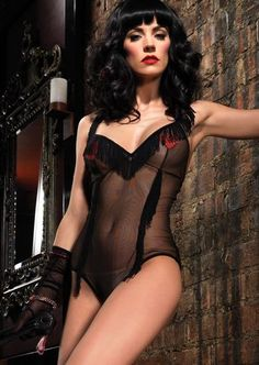 0a6ee38be0 Glitter Heart Applique Teddy in Black by Leg Avenue fulfils any kinky  desires with tassel fringes and glittered heart nipple pasties at the online  lingerie ...