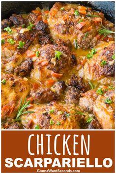 A classic Italian-American dish, Chicken Scarpariello transforms simple chicken into a delicious dinner with a dazzling sauce!